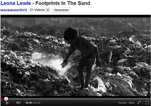 Music video by Leona Lewis performing Footprints In The Sand.